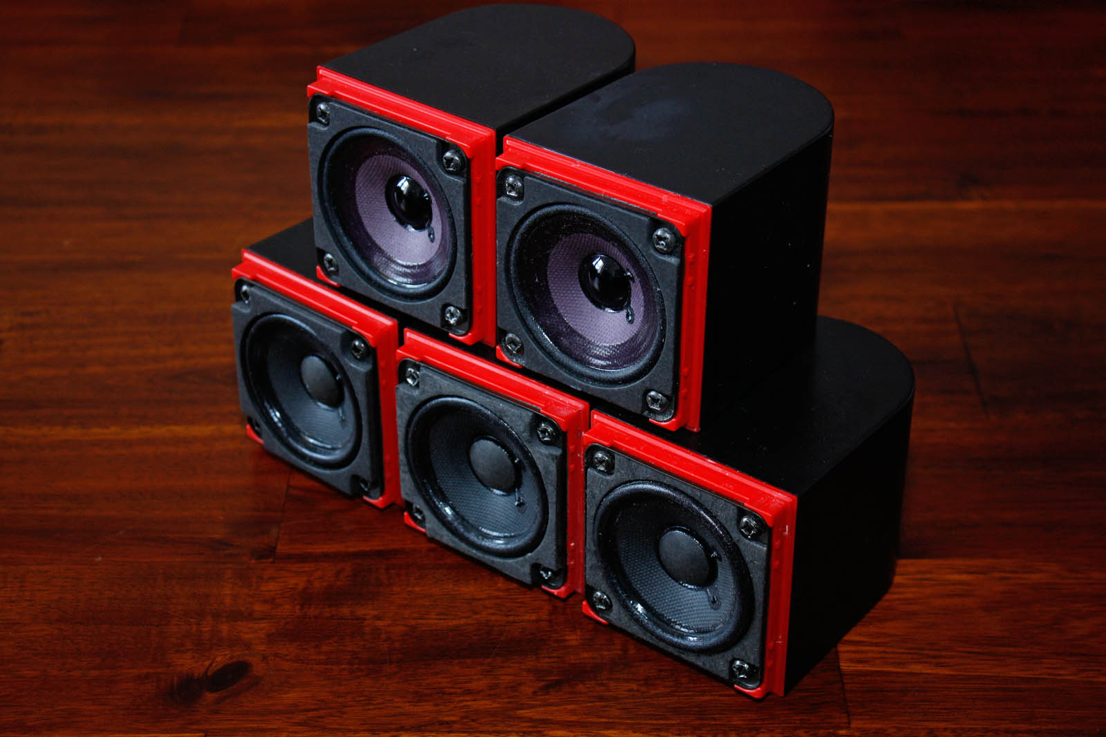 5x bose acoustimass lifestyle cube speaker redline satellit lautsprecher ebay. Black Bedroom Furniture Sets. Home Design Ideas